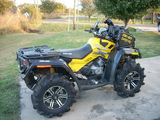 Traditional Riser Snorkel kit for Can-Am Outlander G1 XMR 800