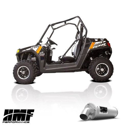HMF TITAN SLIP ON EXHAUST FOR RZR 570