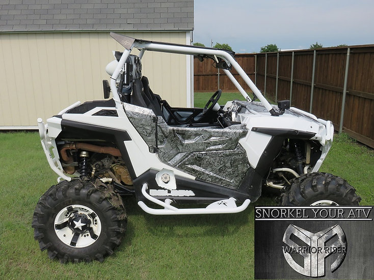 Polaris RZR 900 900s 2015 Snorkel Kit on wild boar honda pioneer 1000 all atv