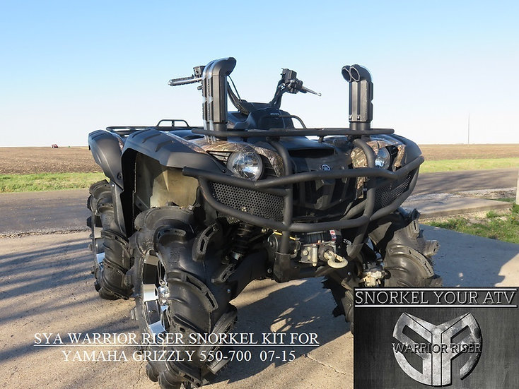 SYA Warrior Riser Snorkel kit for Yamaha Grizzly 550 700 2007 - 2015