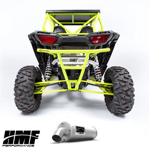 HMF TITAN SLIPON EXHAUST FOR RZR 1000 XP 15-20