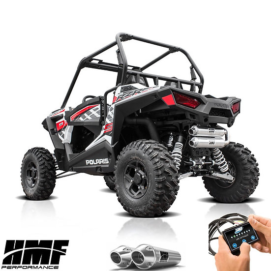 HMF PERFORMANCE DUAL FULL EXHAUST FOR RZR 900 1000s