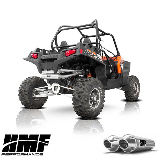 HMF PERFORMANCE DUAL FULL EXHAUST FOR RZR XP 900 11-14