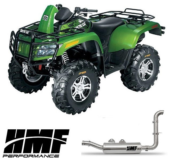 HMF SWAMP SERIES SLIP ON EXHAUST FOR ARCTIC CAT 700 08-13