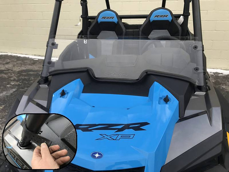 FRONT HALF WINDSHIELD FOR RZR 1000XP 2019 & 1000XP TURBO 2019