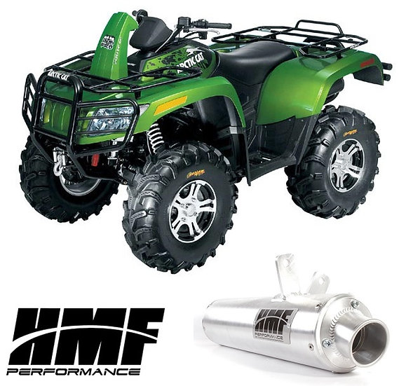 HMF PERFORMANCE SLIP ON EXHAUST FOR ARCTIC CAT 700 08-13