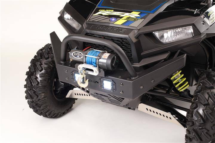 FRONT BUMPER BRUSH GUARD & LED LIGHTS FOR RZR 900 1000S 1000XP