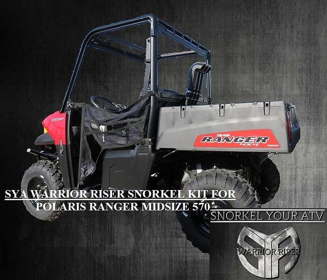 SYA Warrior Riser Snorkel kit for Polaris Ranger MidSize 570-500-ETX  14-21