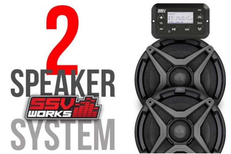 Maverick Trail and Sport 2 Speaker Audio System