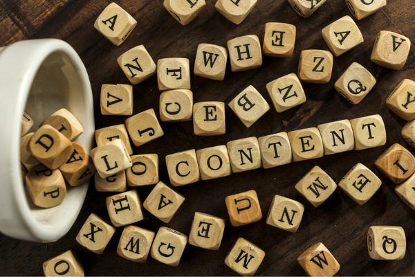 content creatie, content productie, content matrix