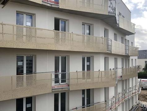 Construction de 125 logements sociaux à Caen (14)