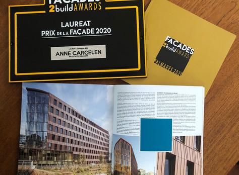 Lauréat Prix de la Façade 2020 - Catégorie BIM