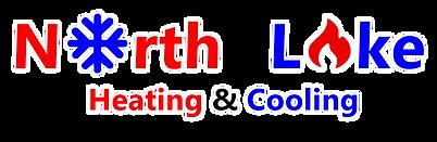 North Lake Heating & Cooling Logo