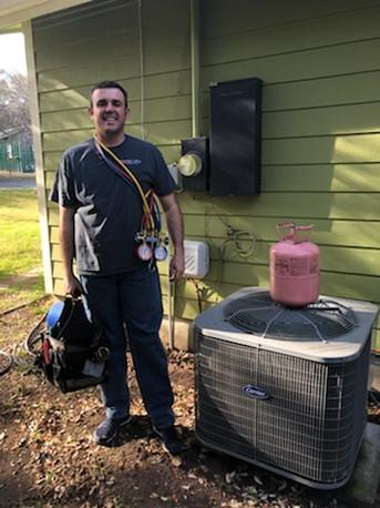 Chris Brown, Owner of North Lake Heating & Cooling in Jonestown, TX