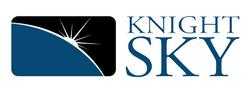 Knight Sky Logo Blue Text Small