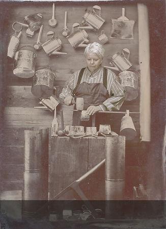 Karen Ostrom, Tintype animation, American tintype, tinsmith, early process photography, digital vs analogue,