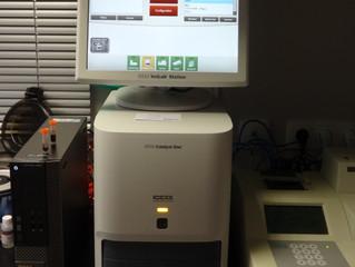 Nouvel appareil au laboratoire