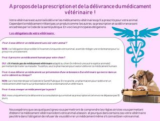 Prescription et délivrance des médicaments