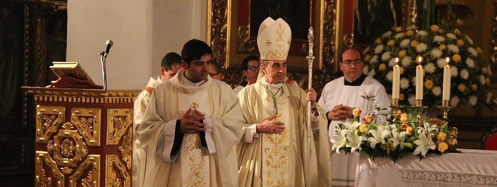 Ceremonia de ordenaciones diaconal y presbiterales.