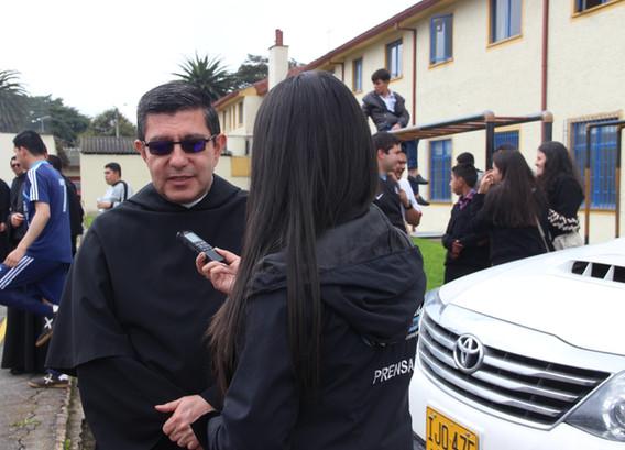 Emisora Mariana entrevista al P. Fray Israel Jiménez, OSA.