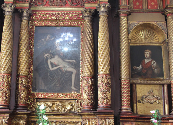 Cuadro de Nuestra Señora de Bojacá o de los Dolores
