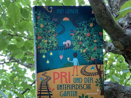 🎉🌳 happy Bookbirthday: Pri und der unterirdische Garten 🌳🎉