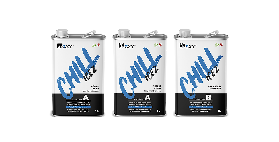 CHILL ICE 2 Epoxy, 3L Kit