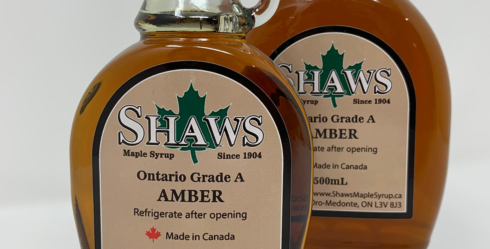 Shaw's Maple Syrup - Various