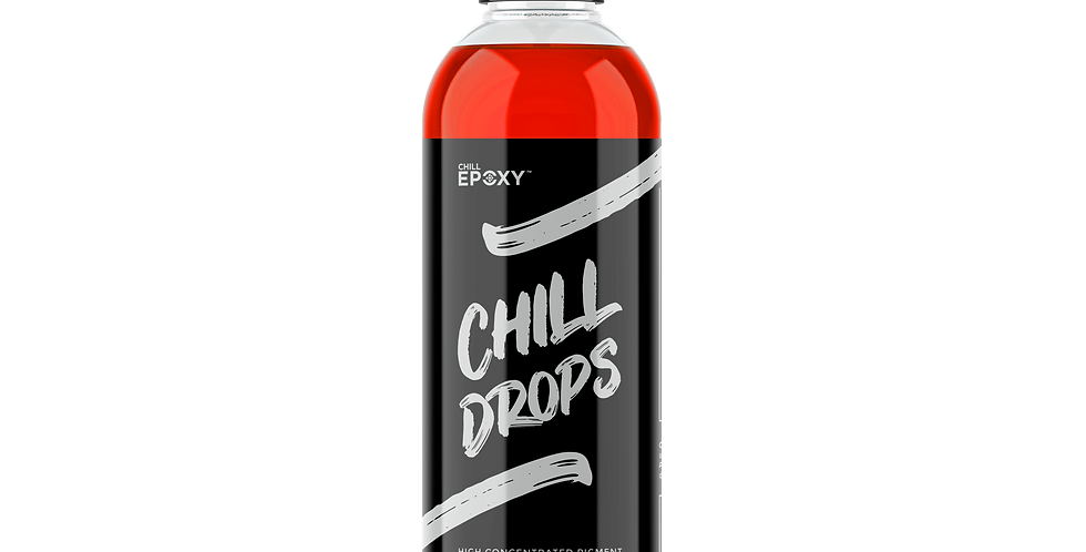 Chill Drops Transparent Red 4oz