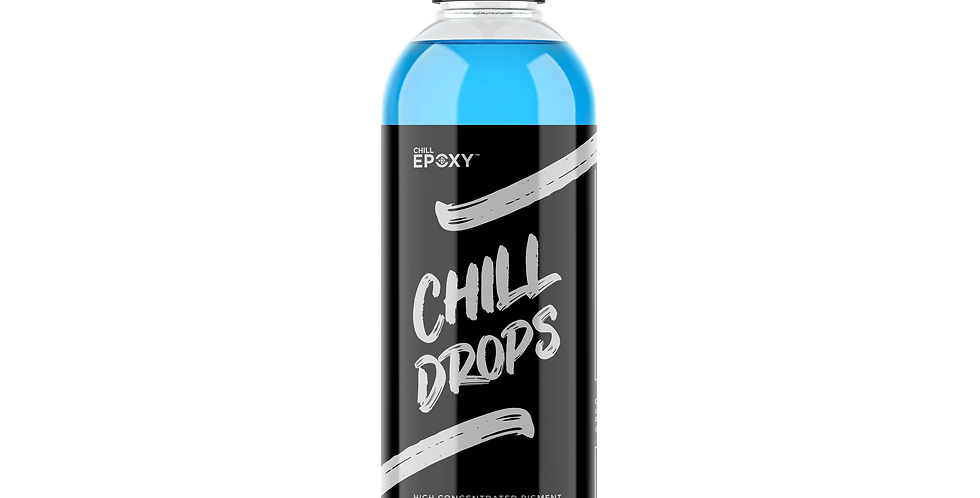 Chill Drops Transparent Baby Blue 4oz