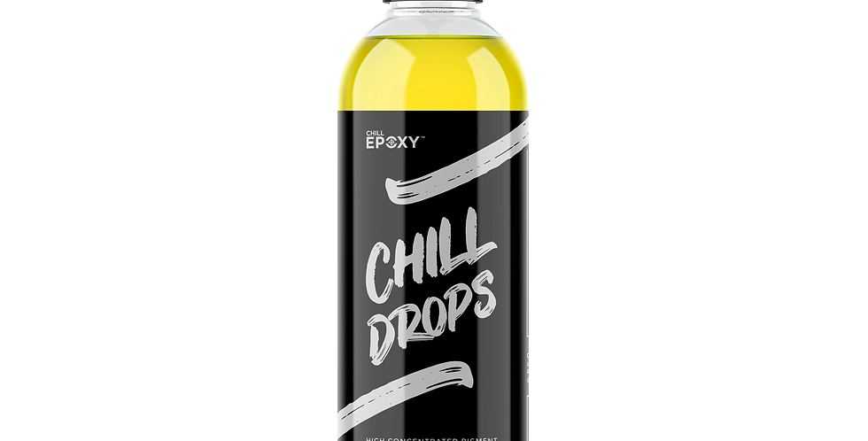 Chill Drops Transparent Yellow 4oz