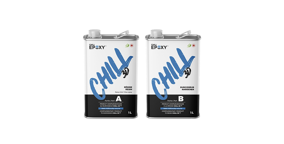 CHILL 3D Epoxy 2L Kit