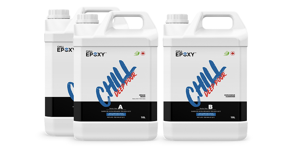 CHILL DEEP POUR Epoxy, 30L Kit
