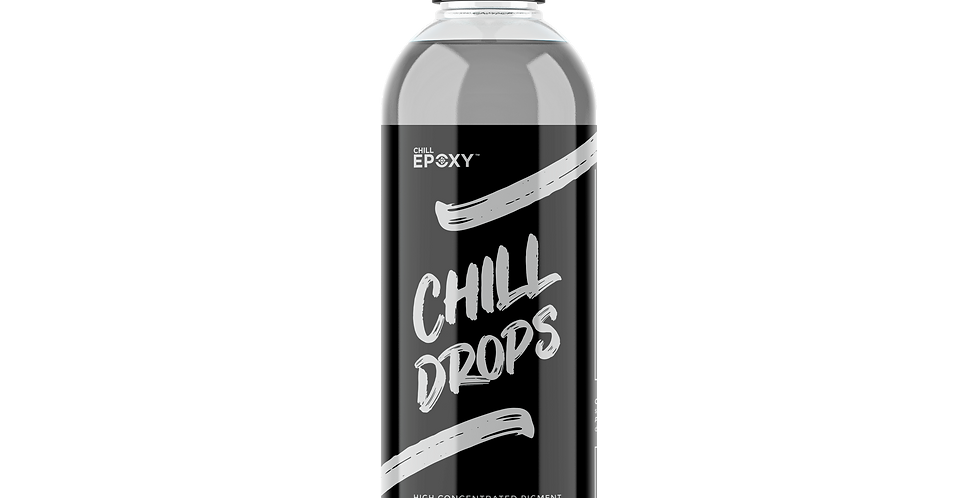 Chill Drops Transparent Grey 4oz