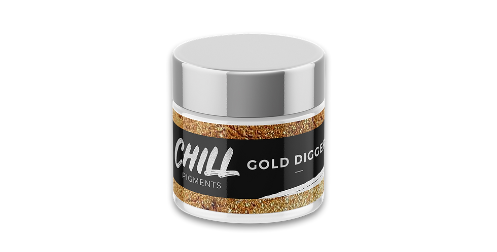 Chill Metallic Pigment, Gold Digger, 1oz