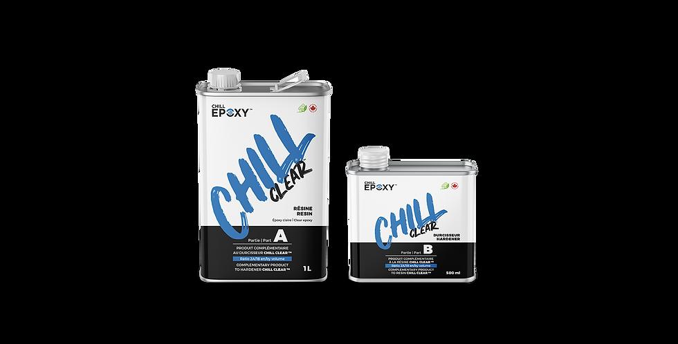 CHILL CLEAR Epoxy, 1.5L Kit