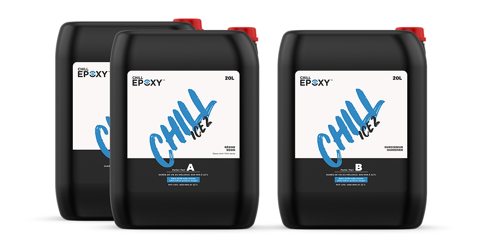 CHILL ICE 2 Epoxy, 60L Kit