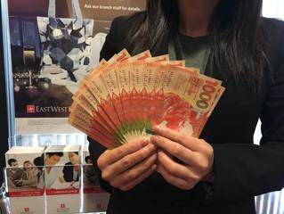 喜迎新春  華美銀行為您提供多種外匯新鈔兌換服務