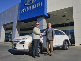 現代汽車賣出2019年第一台NEXO氫燃料電池休旅車