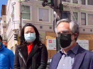 【三藩市華埠】: 送餐項目繼續為居民服務 一箭雙鵰助力餐廳渡難關