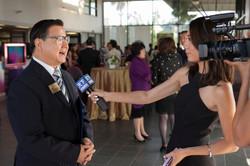 San Gabriel 市議員接受天下衛視記者採訪