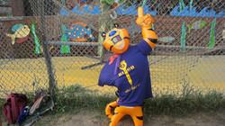 TONY THE TIGER LOVES PURPLE TEAM!!!!
