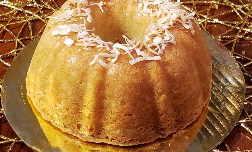 Caribbean Coconut RUMcake