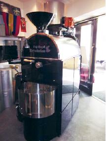 美観塗装,コーヒー焙煎機