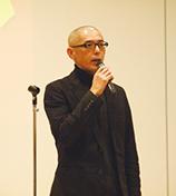 作業着ファッションショー,講師:大槻 剛  上田安子服飾専門学校 教員