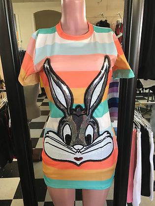 Bugs Bunny T-Shirt Dress