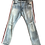 Thumbnail: Blue Jeans with Red and White Trim