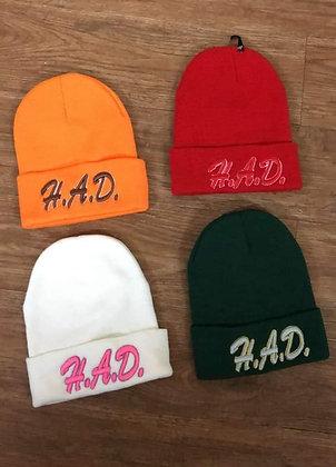 H.A.D. Brand Custom Beanie Hat