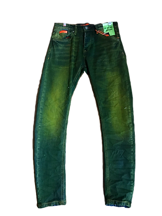 Dark Green Men's Jeans