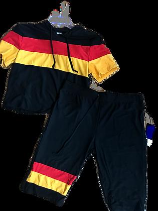 Concepts Women's Hoodie Stripe Sets